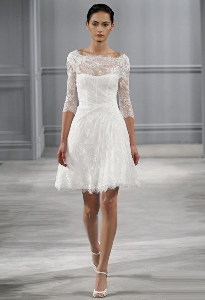 magnifique-robe-de-mariee-princesse-exquis-jupe-courte