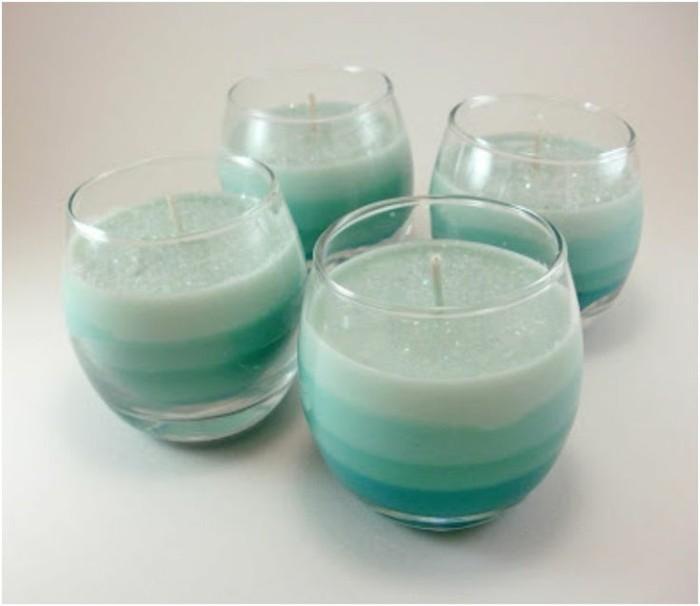 magnifiques-bougies-diy-cire-differentes-nuances-du-vert-idee-geniale-pour-fabriquer-des-bougies