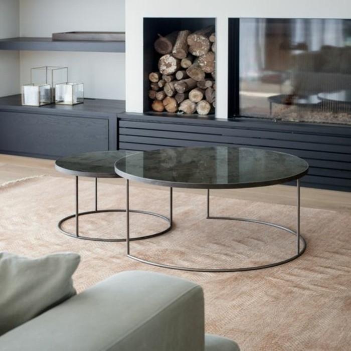 table basse ronde marbre maison design. Black Bedroom Furniture Sets. Home Design Ideas