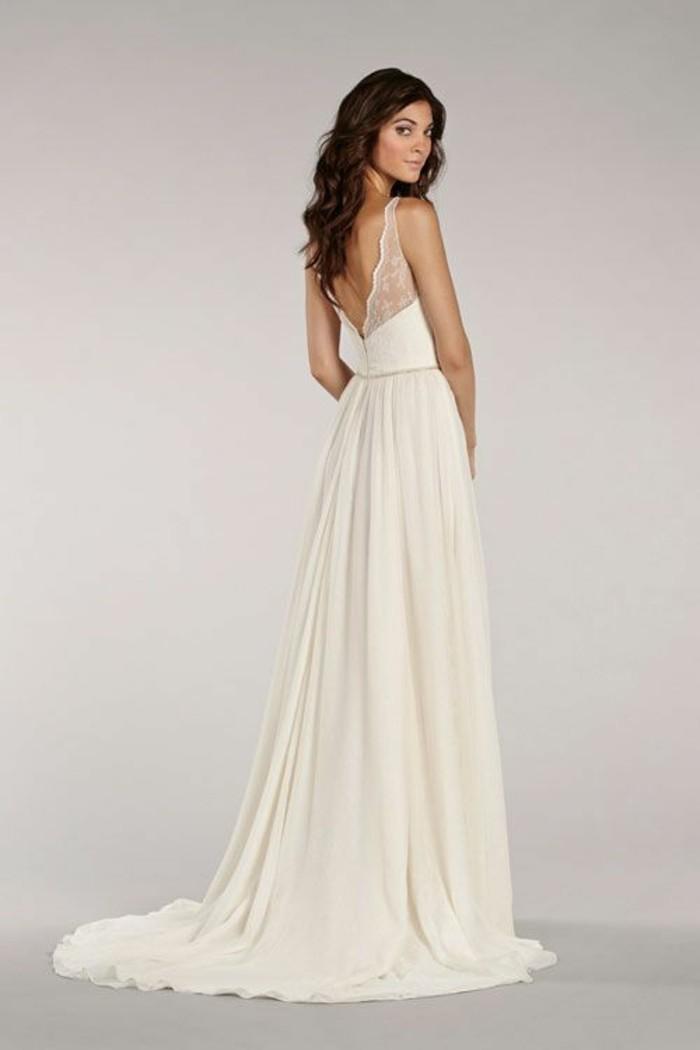 Formidable robe de mariée bustier et jupe voilée en blanc et rose ...
