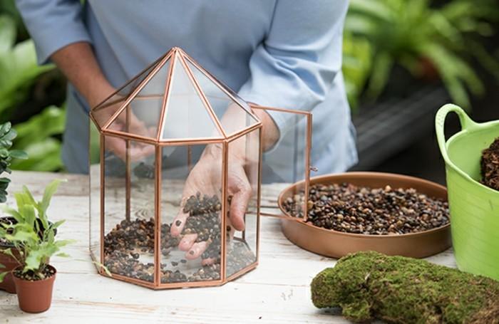 mettre-du-gravier-dans-le-recipient-pour-fabriquer-un-terrarium-plante-charmant