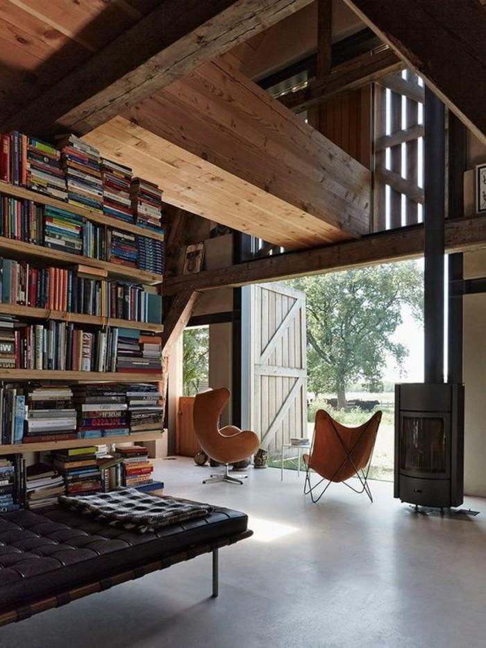 meuble-etagere-maison-style-chalet-grande-fenetre