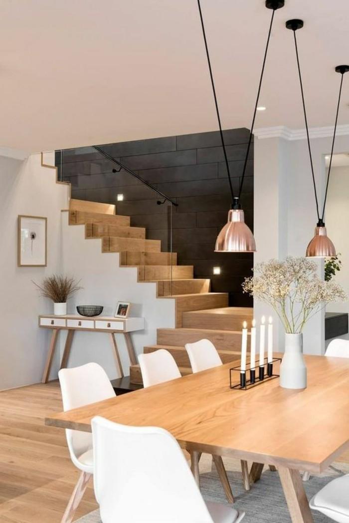 meubles-de-salle-a-manger-bougeoir-elegant-escalier-moderne