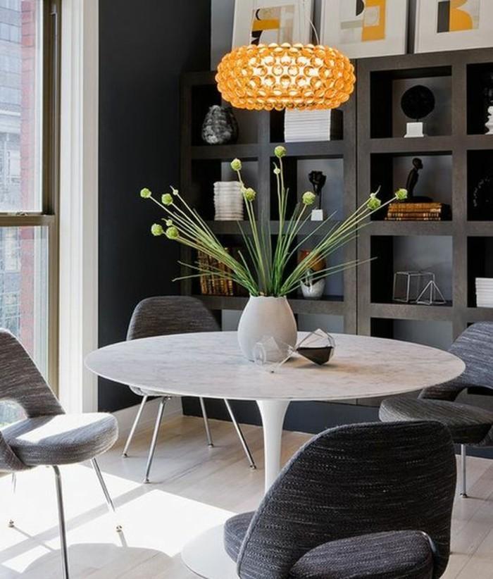 meubles-de-salle-a-manger-petite-table-ronde-chaises-cosy