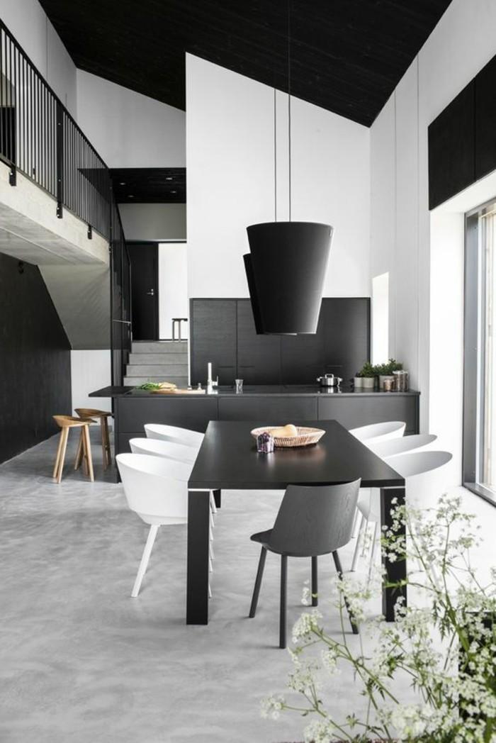 meubles-de-salle-a-manger-salle-a-manger-en-gris-et-blanc