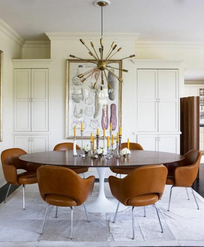 meubles-de-salle-a-manger-table-de-repas-ovale-chaises-design