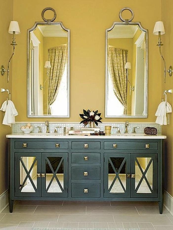 archzine.fr/wp-content/uploads/2016/11/meubles-salle-de-bain-vert-gris-miroirs-mur-jaune.jpg