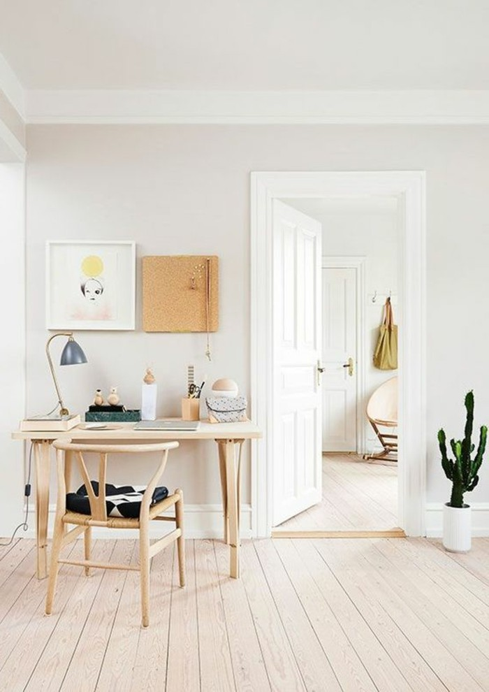 meubles-scandinaves-bois-clair-chaise-en-bois-naturel-parquet-chene-massif-clair