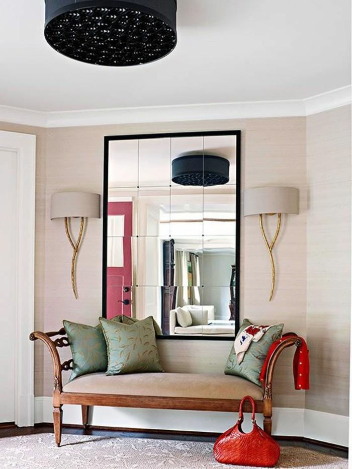 Le Miroir Mural Grande Taille Accessoire Pratique Et D Coration Originale