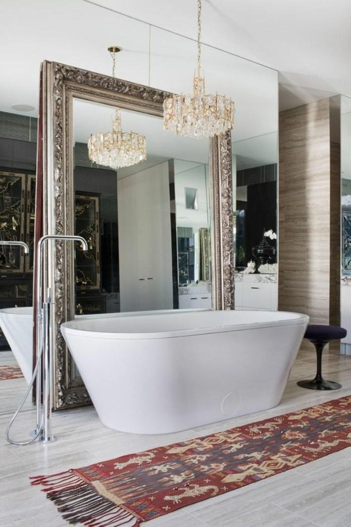Le miroir mural grande taille accessoire pratique et - Deco avec miroir mural ...