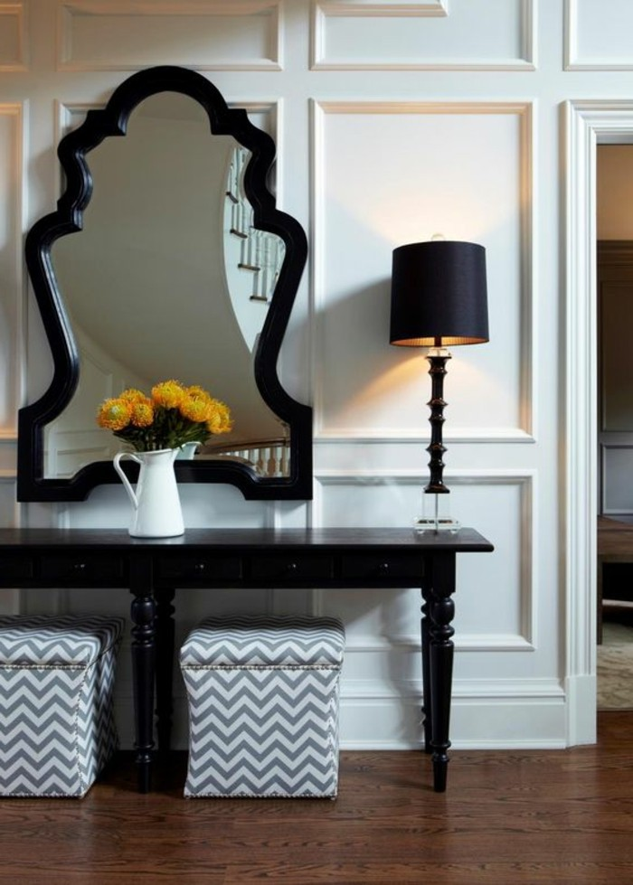 excellent with grand miroir mural design. Black Bedroom Furniture Sets. Home Design Ideas