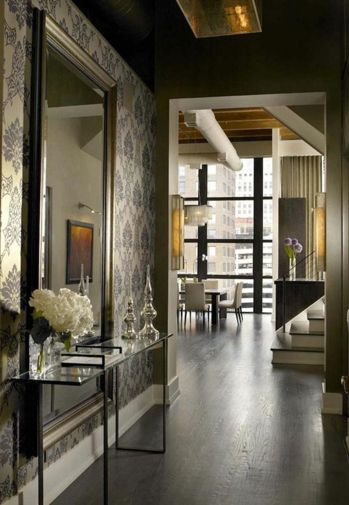 Le miroir mural grande taille accessoire pratique et d coration originale for Miroir mural moderne