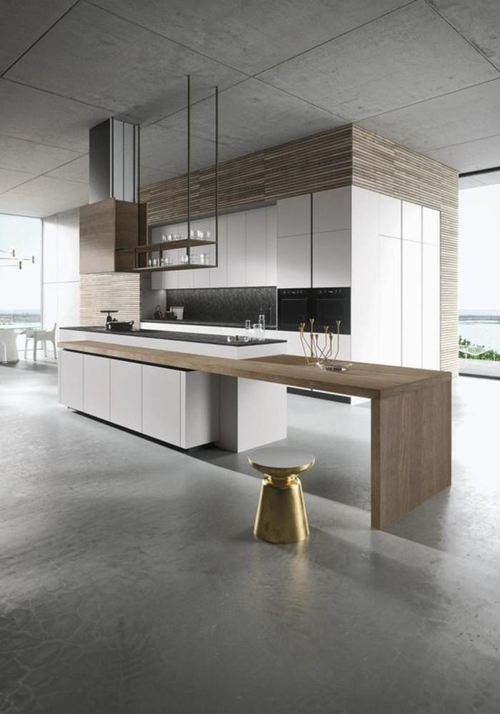 les meilleurs mod les de cuisines modernes pour 2017. Black Bedroom Furniture Sets. Home Design Ideas