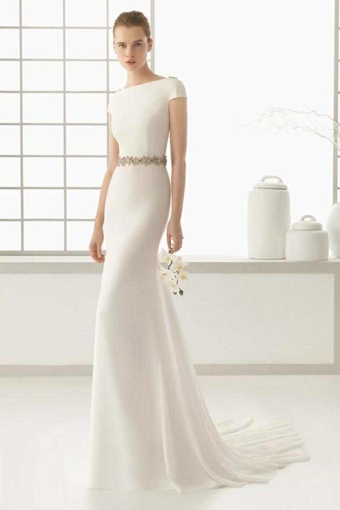 La robe de mariée simple et élégante \u2013 70 photos pour choisir la meilleure