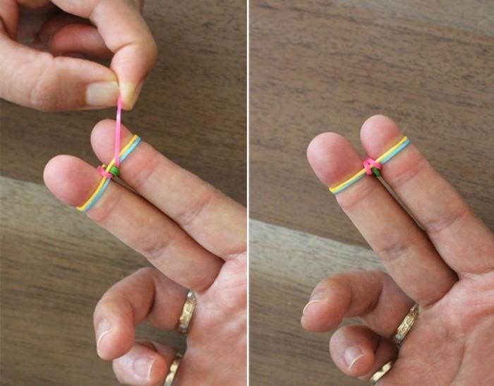passer-l-elastique-situe-au-plus-bas-au-dessus-des-autres-comemnt-faire-des-bracelets-en-elastiques