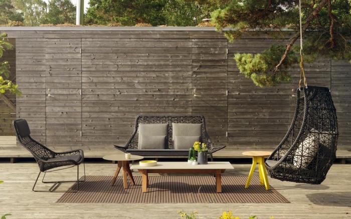 patricia-urquiola-salon-de-jardin-tresse-luxe-noir-design