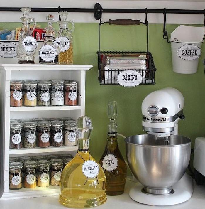 1001 id es tag re pices pimentez la d co de votre cuisine. Black Bedroom Furniture Sets. Home Design Ideas