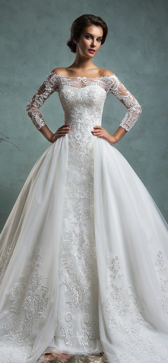 princesse-robe-de-mariee-courte-robe-de-marier-princesse