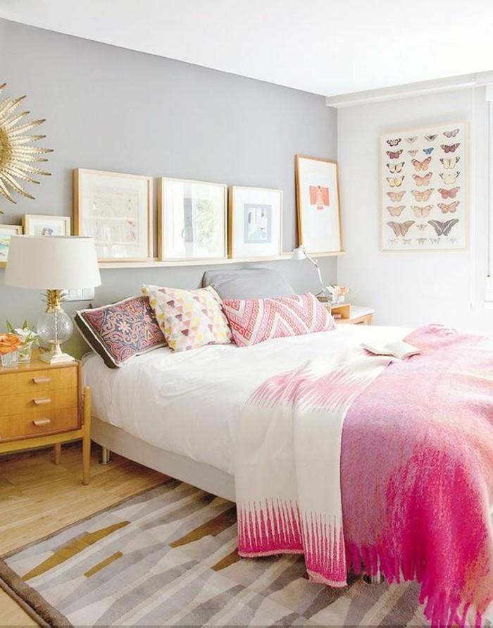 Quelle couleur pour une chambre coucher le secret est ici for Chambre en bois de rose