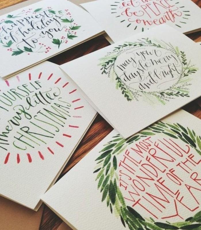 quelques-jolies-cartes-de-noel-a-faire-soi-meme-jolis-messages-ecrits-et-petits-dessins-en-feutre