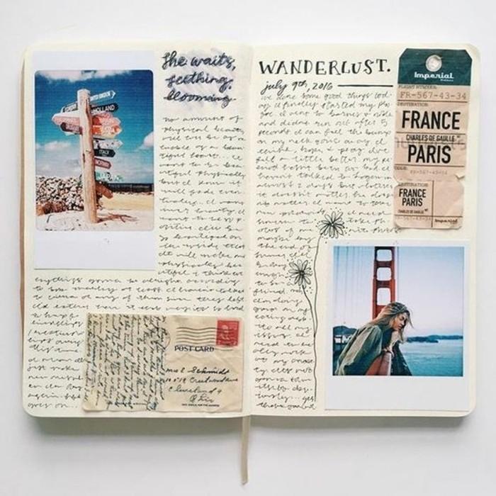 Comment faire un carnet de voyage id es inspirantes en 60 photos - Faire un gite de france ...