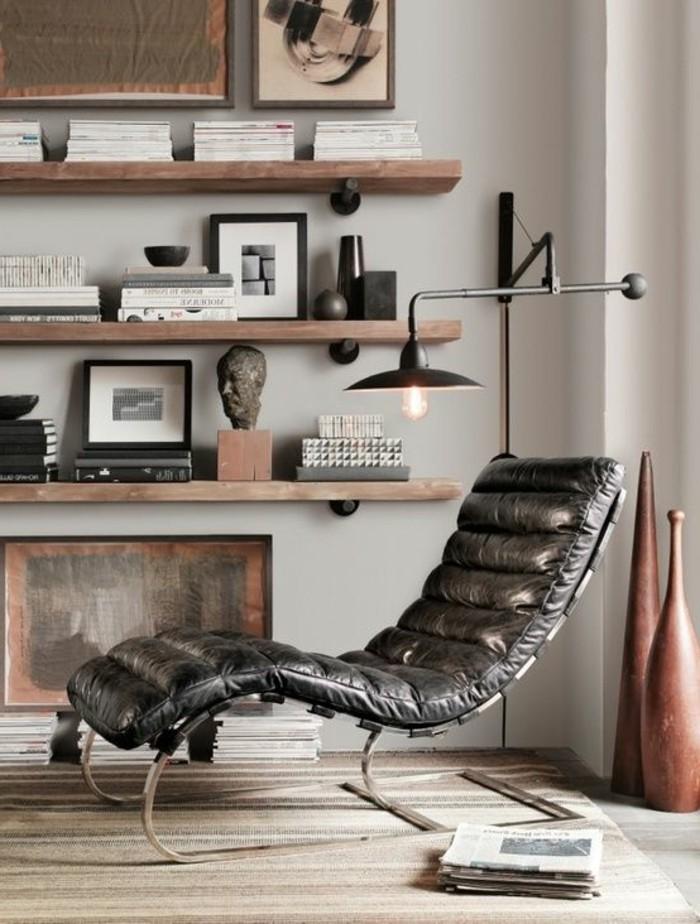 rangement-mural-de-livres-rangement-deco-et-fauteuil