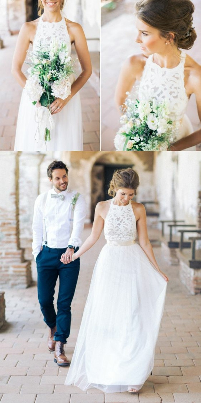 robe-de-marier-simple-romantique-elegance-belle-couple
