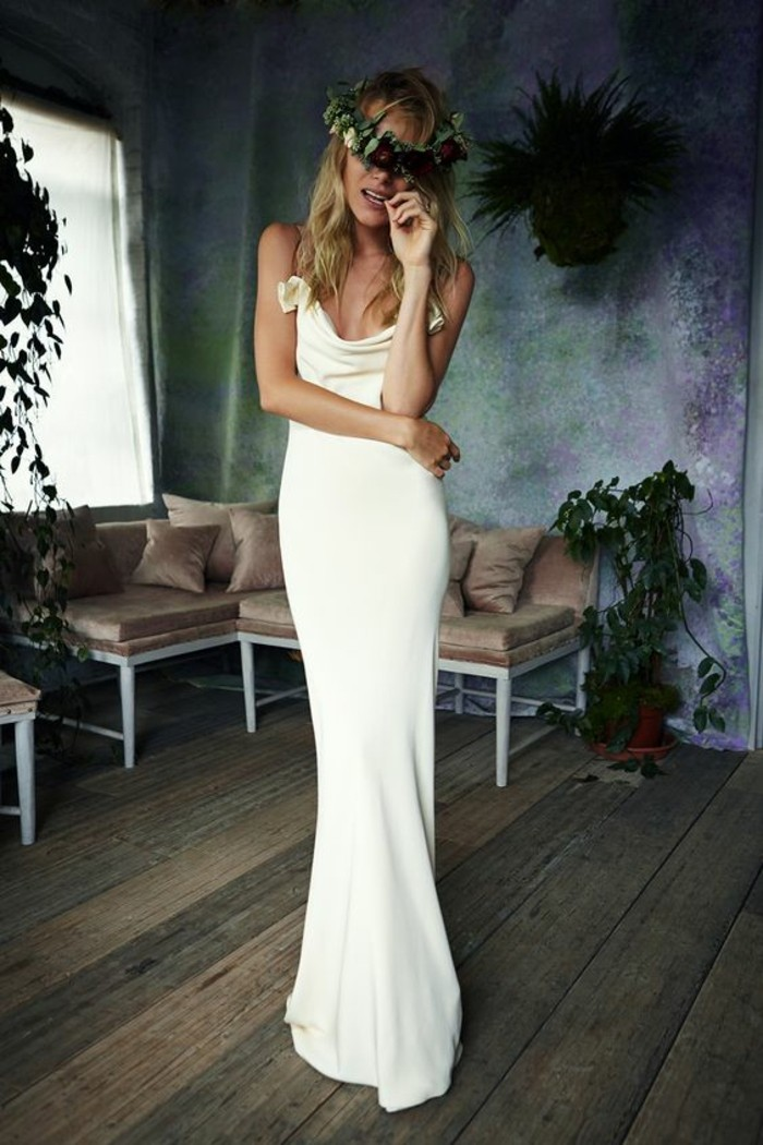 robe-de-marier-simple-romantique-elegance-longue-robe-simple