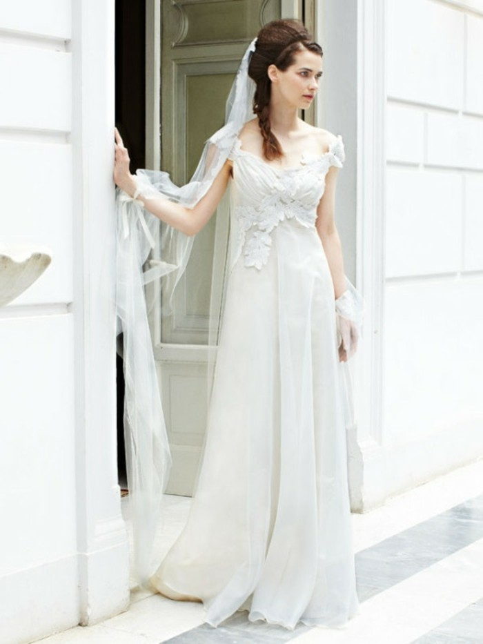 Trouvez la meilleure robe de mari e avec manches - Robe de mariee romantique champetre ...
