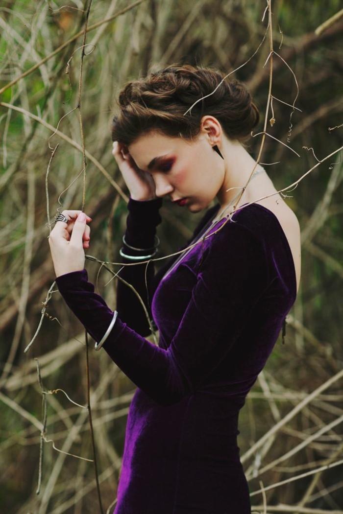 robe-velours-femme-comment-porter-chouette-idee