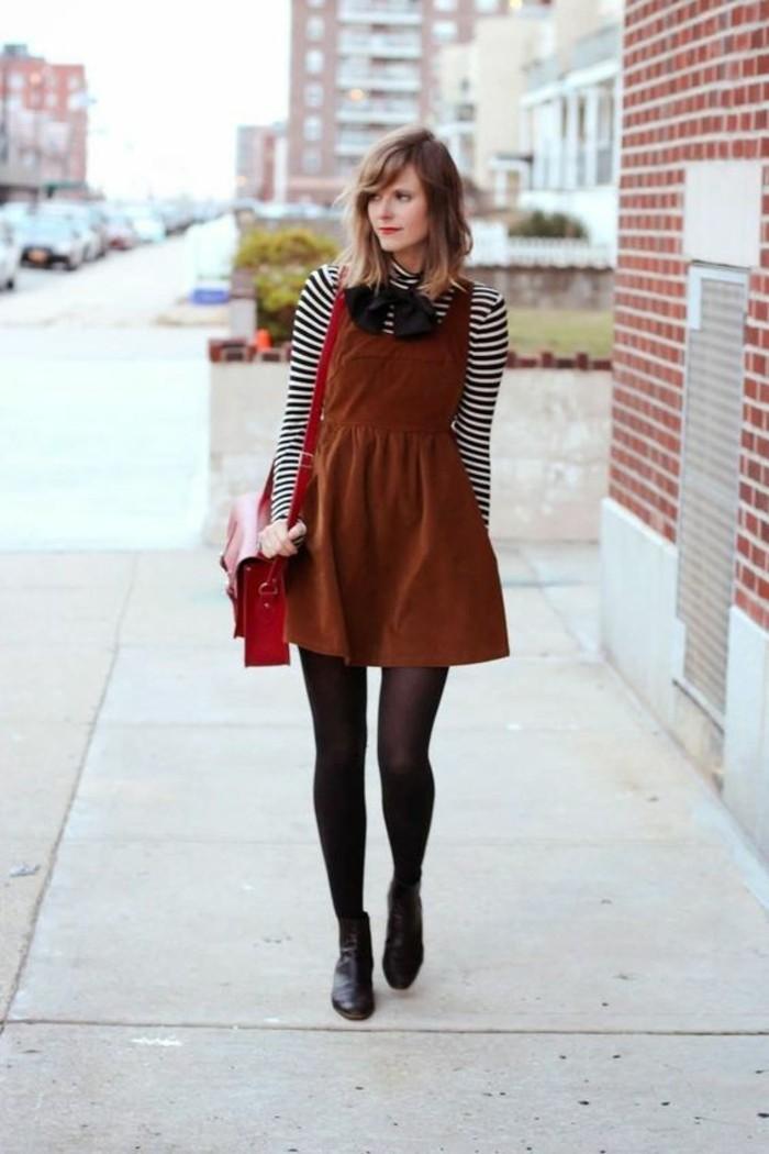 robe-velours-noir-moderne-idee-botinnes-cool
