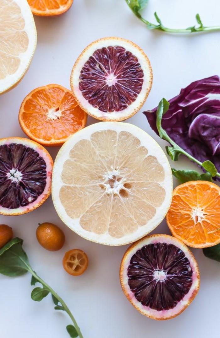 salade-de-pamplemousse-agrumes-aux-couleurs-differentes