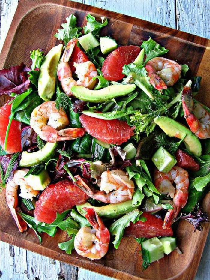 salade-de-pamplemousse-crevettes-et-avocat