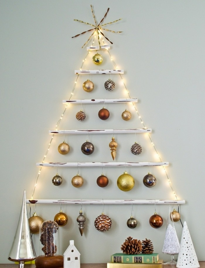Decoration De Sapin De Noel Bois
