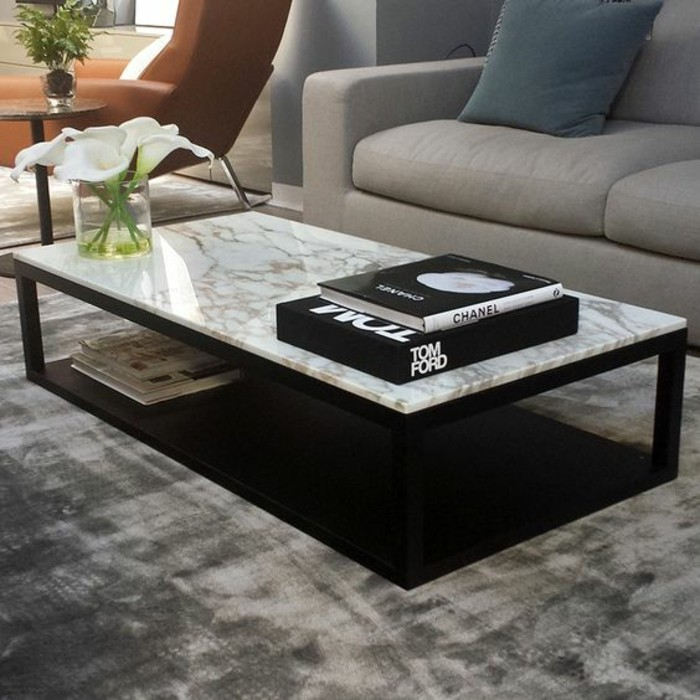 Stone Coffee Tables With Modern Style: 58 Idées Pour Donner Du Style Au