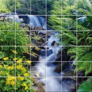 Stickers carrelage - La nature dans toute sa splendeur