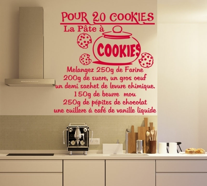 stickers de cuisine notre top 10 des id es les plus cr atives. Black Bedroom Furniture Sets. Home Design Ideas