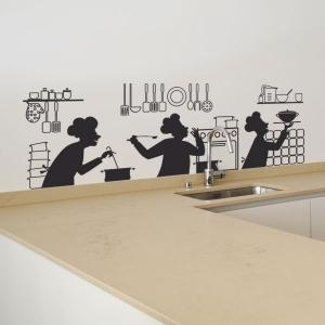 Stickers de cuisine - modèle Cuisine en folie