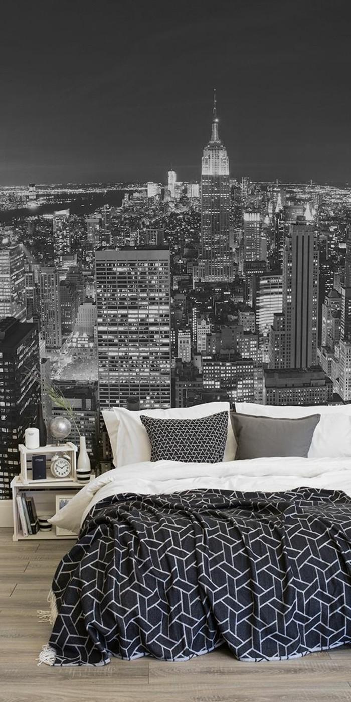 Chambre Sur Le Thème De New York les stickers muraux new york - des idées spectaculaires pour