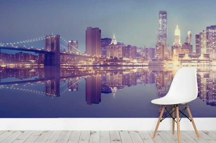 poster mural new york latest declina papier peint deco adhsif new york top vente poster xxl. Black Bedroom Furniture Sets. Home Design Ideas