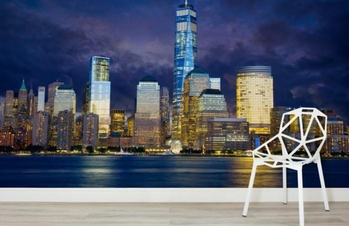 stickers-muraux-new-york-la-fleuve-poster-geant