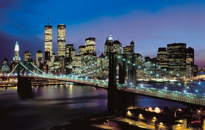 stickers-muraux-new-york-pont-new-york-pendant-la-nuit