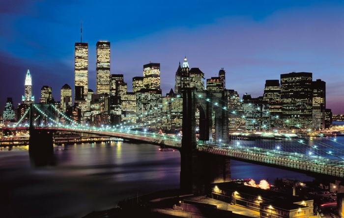 stickers-muraux-new-york-pont-new-york-pendant-la-nuit