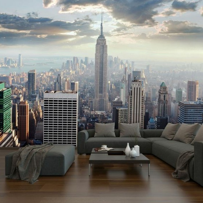 poster mural geant new york pas cher. Black Bedroom Furniture Sets. Home Design Ideas