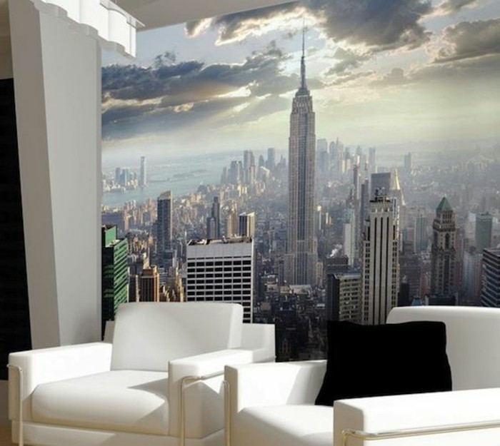 poster mural xxl new york interesting beautiful new york wall poster and genial of mural. Black Bedroom Furniture Sets. Home Design Ideas