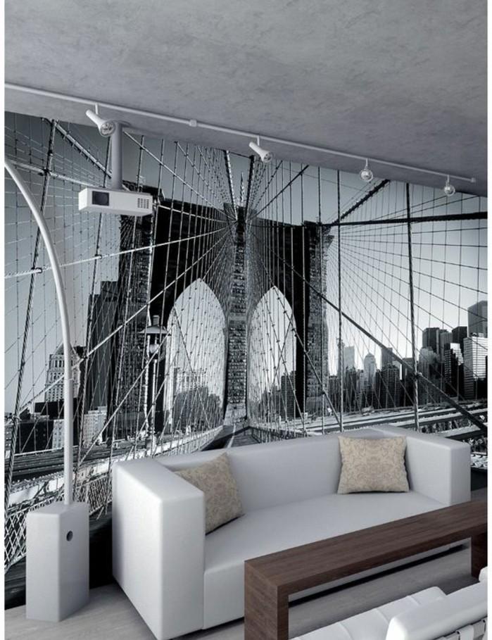 Les stickers muraux new york des id es spectaculaires for Decoration murale fenetre
