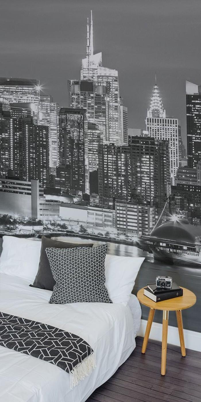 stickers-muraux-new-york-stickers-urbains-noir-et-blanc