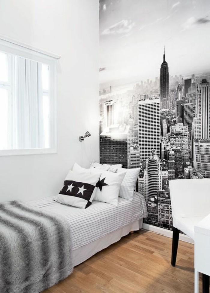 stickers-muraux-new-york-un-sticker-en-noir-et-blanc-dans-une-chambre