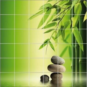 Stickers carrelage Zen