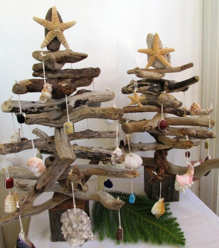 style-bord-de-mer-pour-votre-sapin-de-noel-en-bois-decoration-de-coquilles-pic-en-etoiles